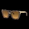 Oakley Oakley Side Swept Matte Brown Tortoise Brown Gradient Polarized