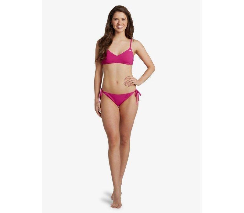 Roxy Beach Classics Athletic Triangle Bikini Top Beetroot Purple