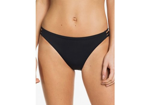 Roxy Roxy Beach Classics Full Bikini Bottoms True Black