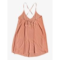 Roxy Be In Love Strappy Beach Dress Tawny Orange
