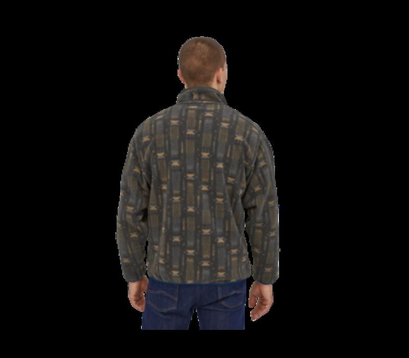 Patagonia Men's Synchilla® Snap-T® Fleece Pullover - Tallgrass: Forge Grey