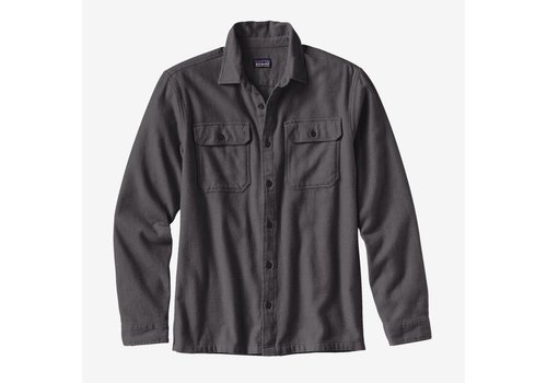 Patagonia Patagonia Men's Long-Sleeved Fjord Flannel Shirt Forge Grey