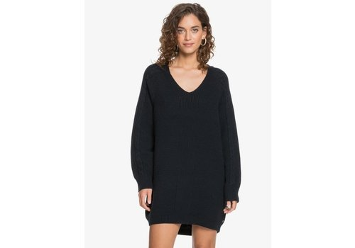 Roxy Roxy Baby Crush Oversized Jumper Dress Anthracite