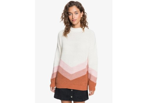 Roxy Roxy Open Door Jumper Snow White