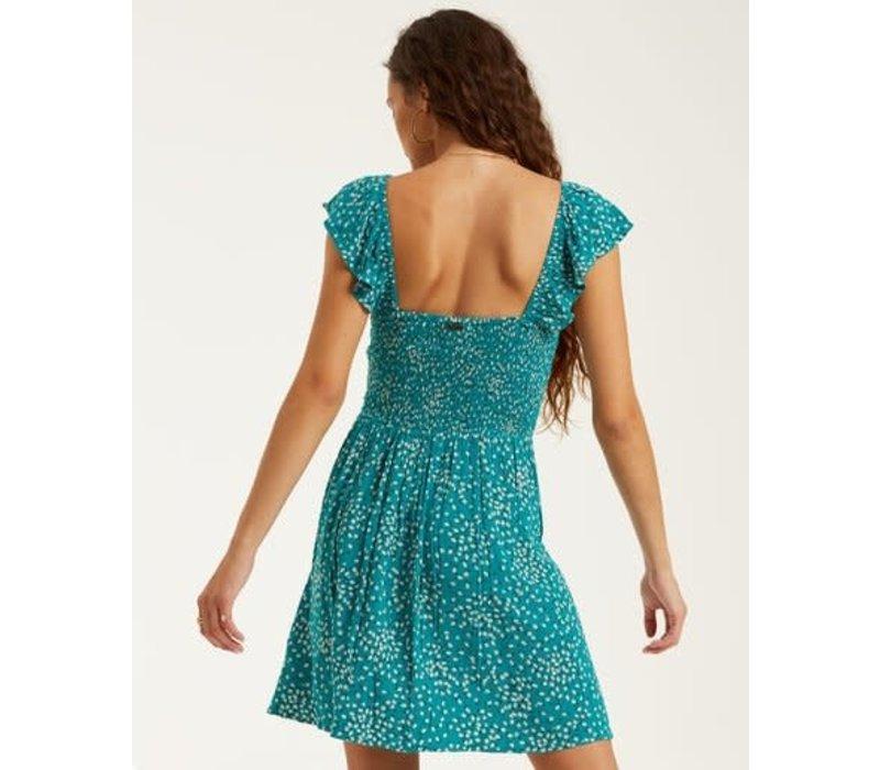 Billabong Forever Yours Dress Seagreen