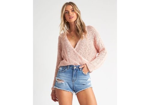 Billabong Billabong Sweet Bliss Sweater Barley Blush