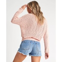 Billabong Sweet Bliss Sweater Barley Blush