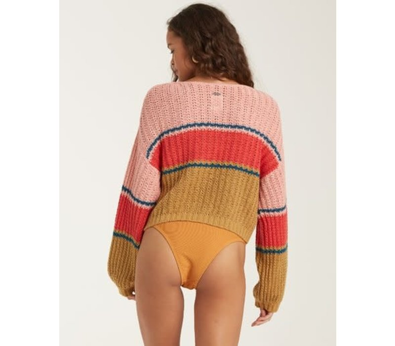 Billabong Washed Out Sweater Wild Honey