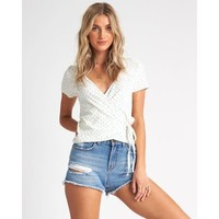 Billabong Find Me Top Salt Crystal