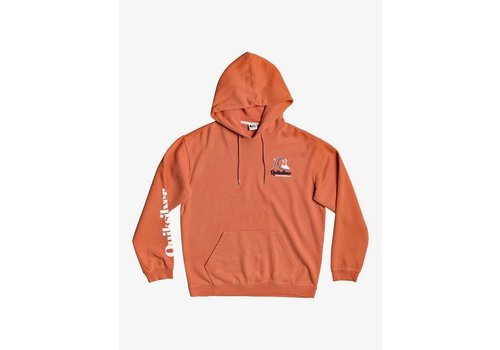 Quiksilver Quiksilver Sweet As Slab Hoodie Chili