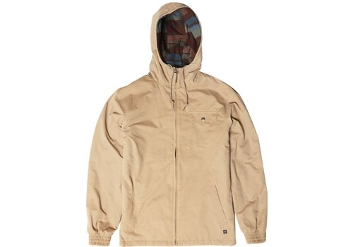 Vissla Vissla Breakers II Reversible Jacket Khaki