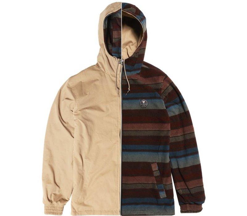 Vissla Breakers II Reversible Jacket Khaki