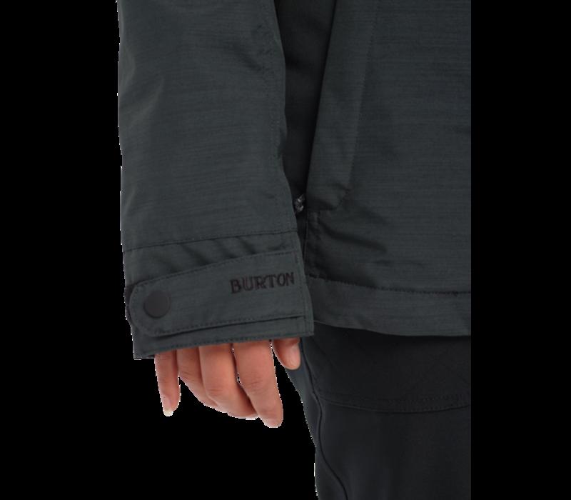 Burton W's Jet Set Jacket True Black Heather