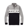 Burton Burton M's Lowball 1/4 Zip Gray Heather True Black