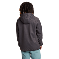 Burton Crown Full Zip Gray Heather True Black