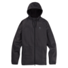 Burton Burton Crown Full Zip Gray Heather True Black