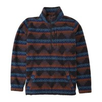 Billabong Boundary Mock Neck Polar Fleece Malibu