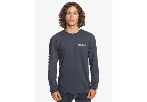 Quiksilver Quiksilver Check Yo Self Long Sleeve T-Shirt Persian Night