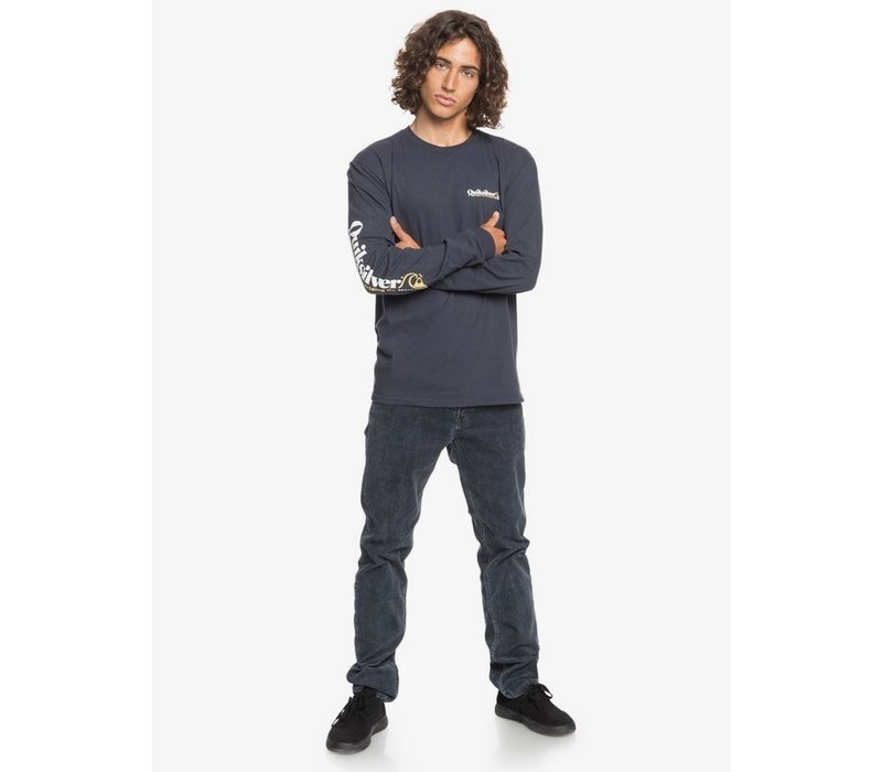 Quiksilver Check Yo Self Long Sleeve T-Shirt Persian Night