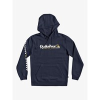 Quiksilver Check Yo Self Hoodie Persian Night