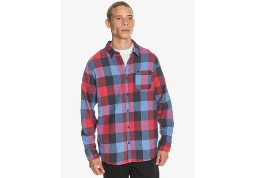Quiksilver Quiksilver Motherfly Flannel Long Sleeve Shirt Persian Night Motherfly