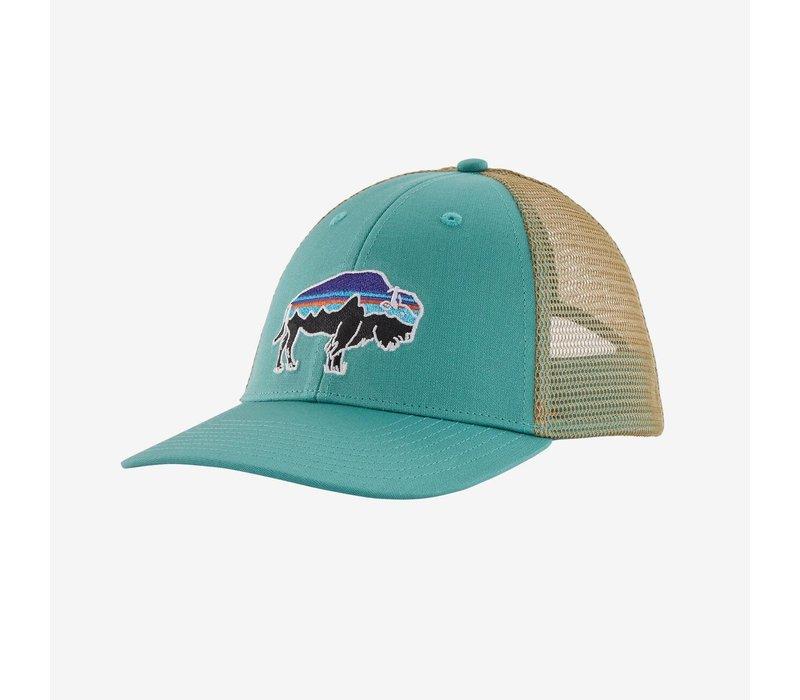 Fitz Roy Bison LoPro Trucker Hat Light Beryl Green