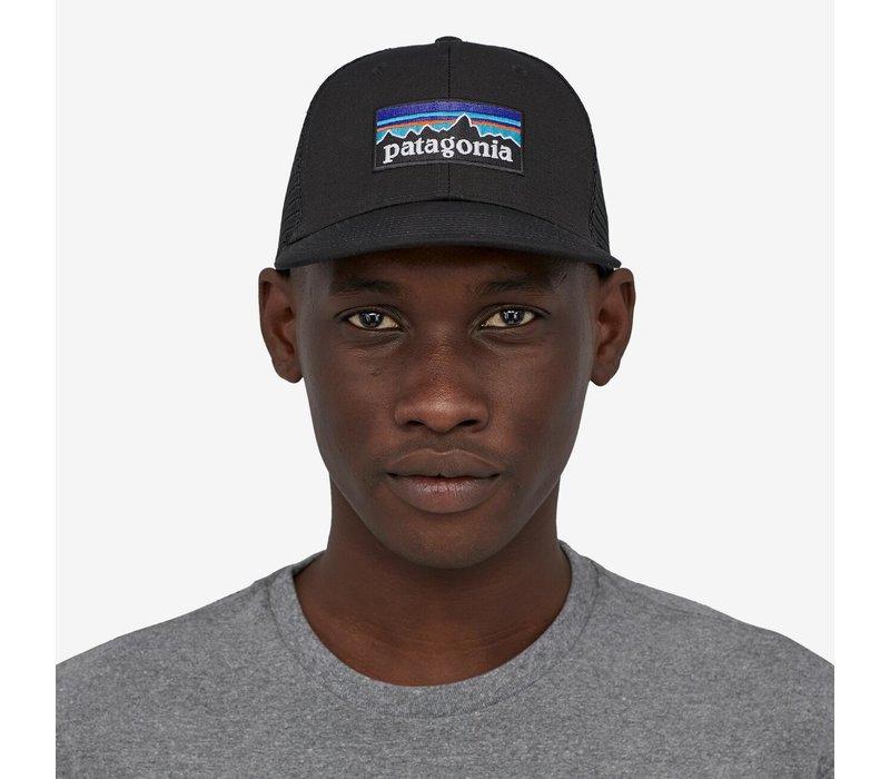 Patagonia P-6 Logo Trucker Hat Black