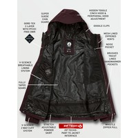 Volcom L Gore-Tex Jacket Black Red