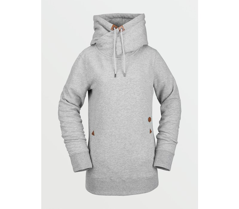 Volcom Tower Pullover Fleece Heather Grey