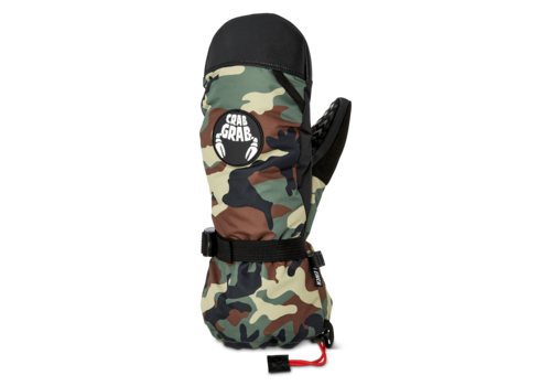 Crab Grab Cinch Mitt Classic Camo