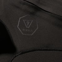 Vissla Seven Seas 4/3 Chest Zip Black