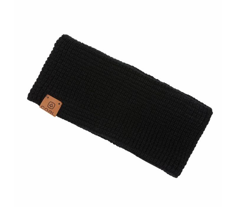 Coal Juno Ear-warmer Black
