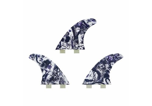 Captain Fin Co. Captain Fin Chemistry Paser Large Twin Tab White