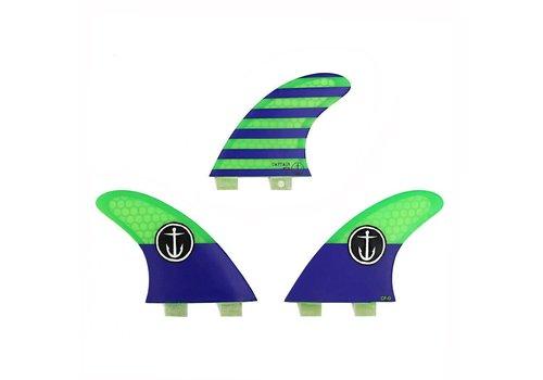 Captain Fin Co. Captain Fin CF Grom Twin Tab Blue