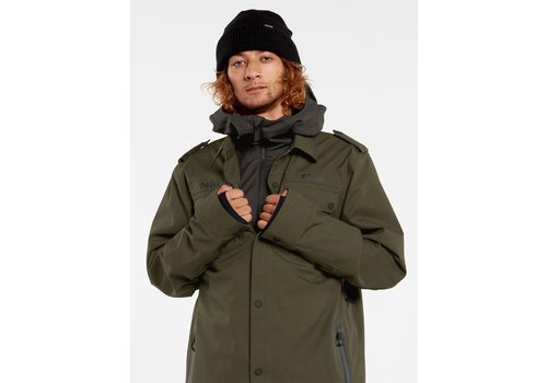 Volcom Volcom Creedle2Stone Jacket Black Military