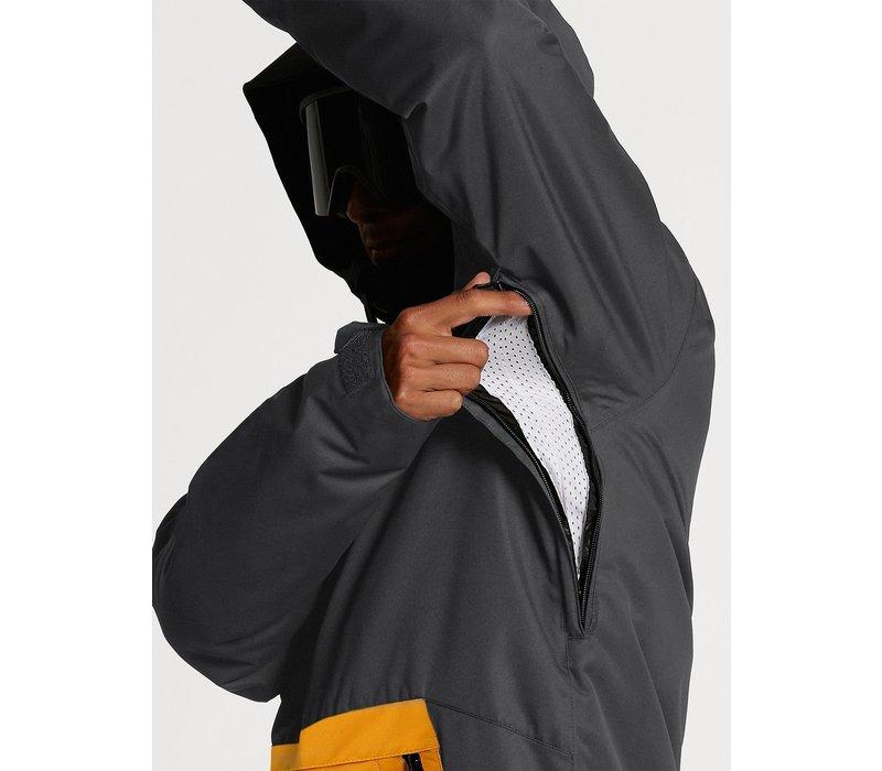 Volcom Deadlystones Insulated Jacket Dark Grey