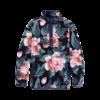 Burton Burton Hearth Fleece Pullover Dark Slate Oversized Floral