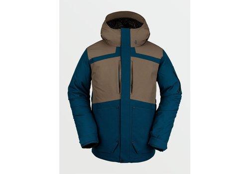 Volcom Volcom Scortch Insulted Jacket Blue