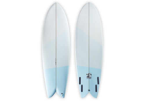Third Coast 3rd Coast Surfboards 6'2 Warrior V8 Blue Ombre
