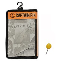 Captain Fin CF Quad Medium ST Aqua