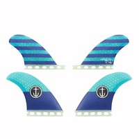 Captain Fin CF Quad Classic ST Blue