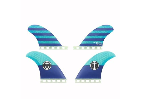 Captain Fin Co. Captain Fin CF Quad Classic ST Blue