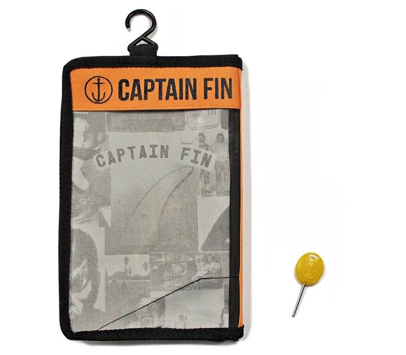 Captain Fin Jeff McCallum Quad ST Black