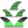 Captain Fin Co. Captain Fin CF 5 Fin Medium ST Green