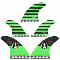 Captain Fin CF 5 Fin Medium ST Green