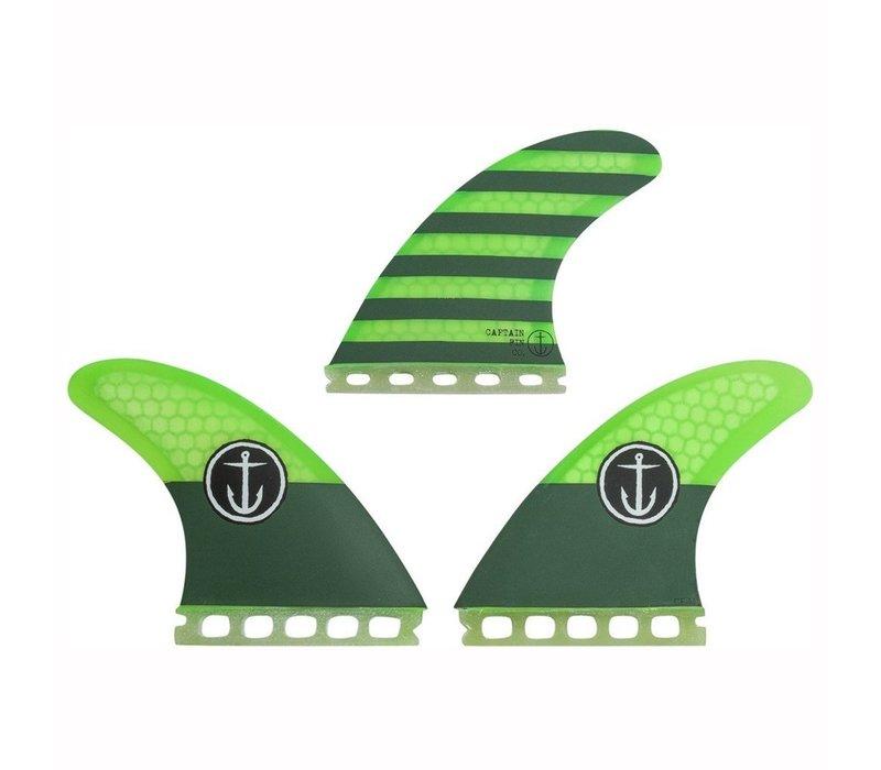 Captain Fin CF Medium Futures Green
