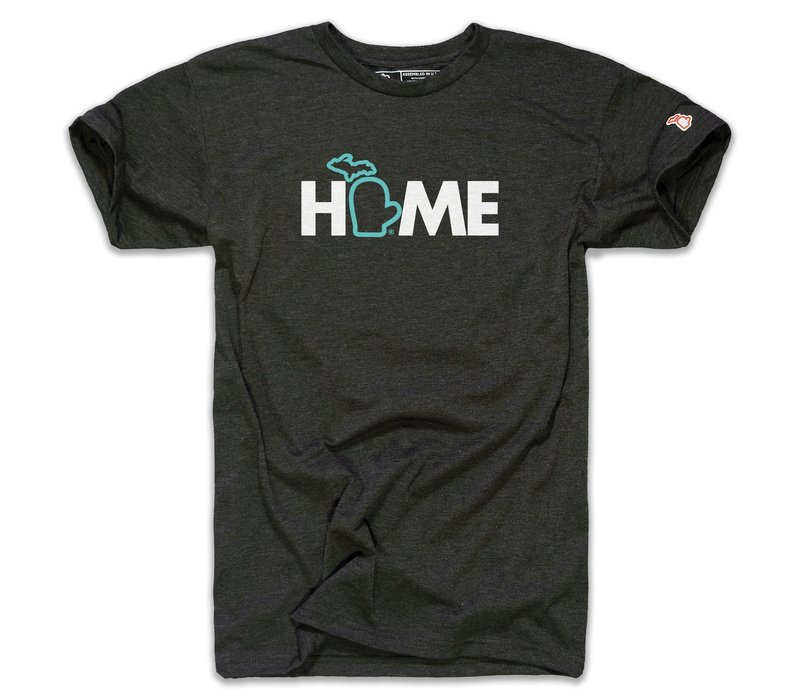 The Mitten State Home Heather Black