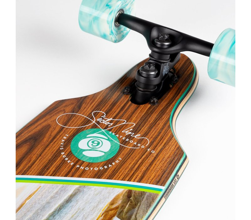 """Sector 9 Cape Roundhouse 34.0"""" x 8.85"""""""