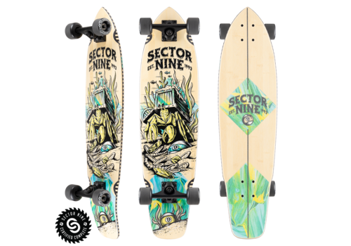 """Sector 9 Sector 9 Fortune Ft. Point Complete 34.0"""" x 8.75"""""""