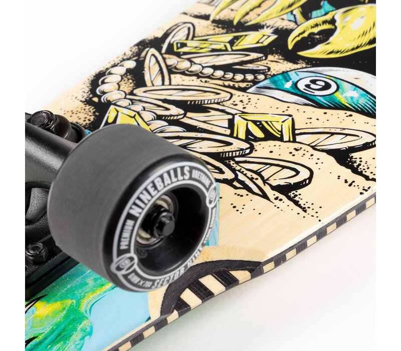 """Sector 9 Fortune Ft. Point Complete 34.0"""" x 8.75"""""""